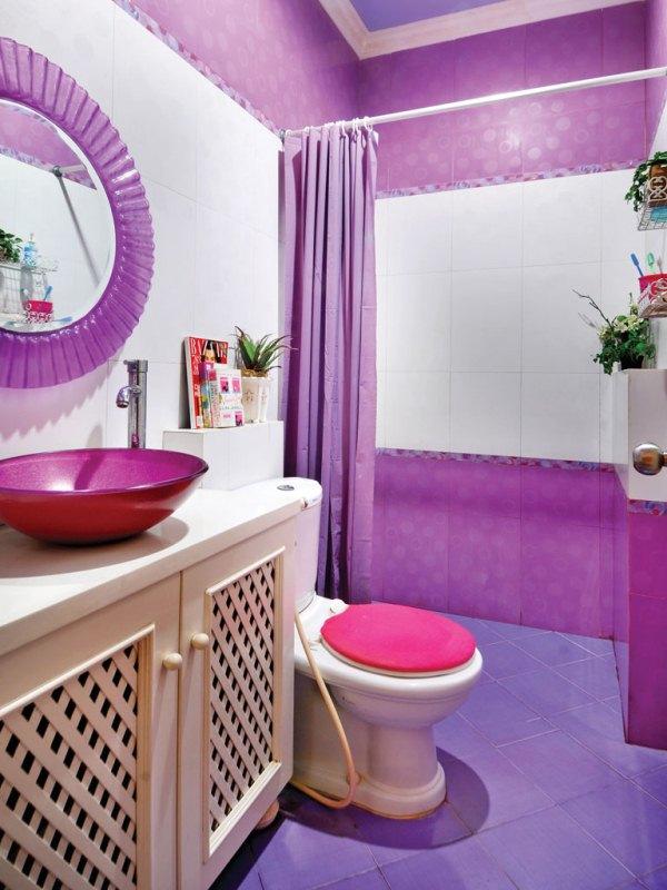 model dan desain keramik kamar mandi