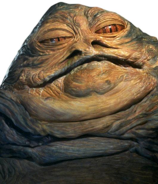 Neko Random: My Top Ten Worst Star Wars Characters #4 ... Jabba The Hutt