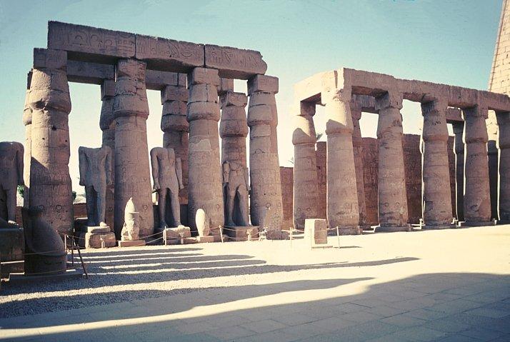 palacios e templos do egito antigo On arquitectura adintelada
