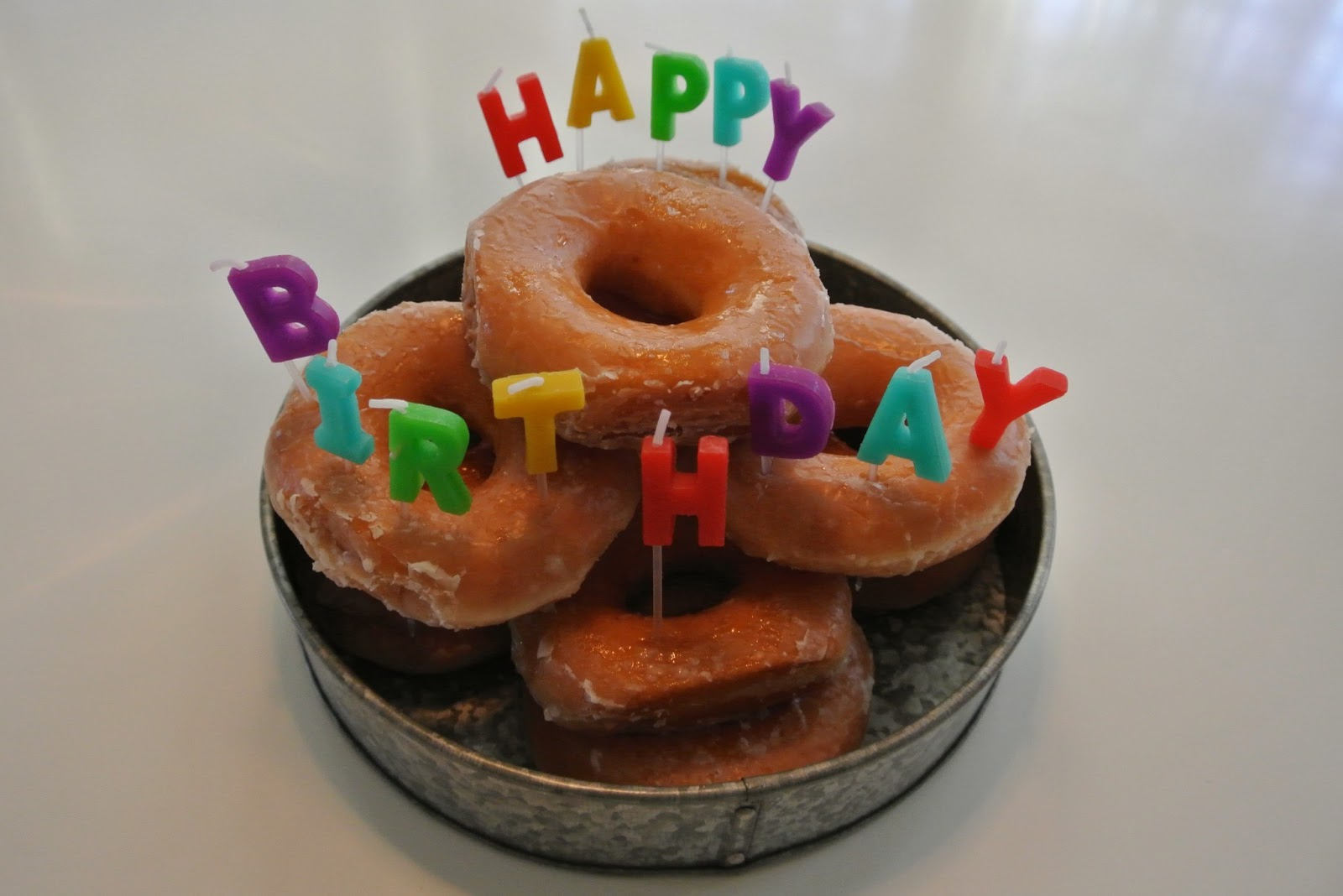 Happy Birthday Donuts