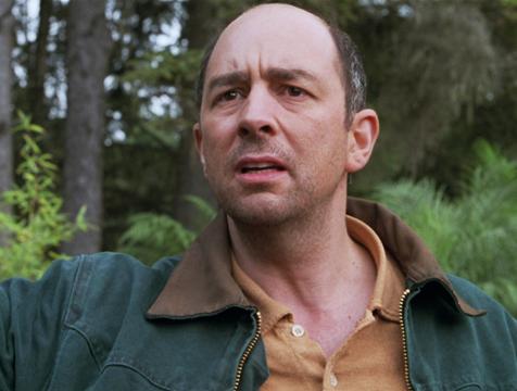 Eddie Carr (Richard Schiff) en El mundo perdido. Jurassic Park - Cine de Escritor