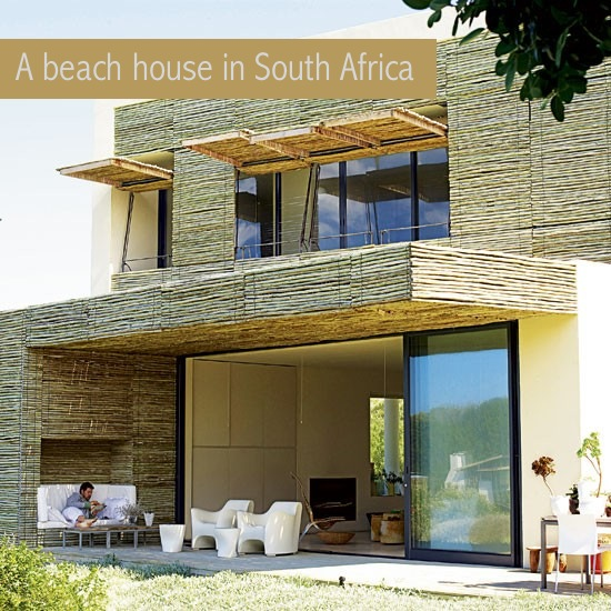 Decordemon a beach house in south africa - The shutter clad house ...