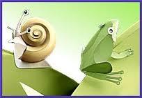 gambar cerita katak dan siput