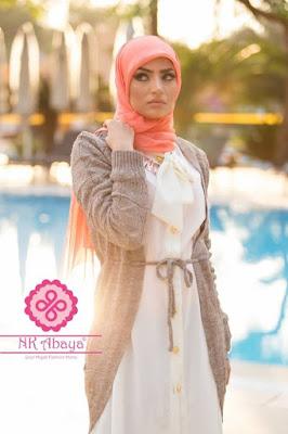 hijab musim hujan