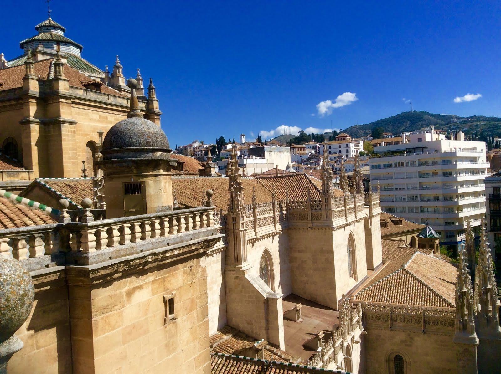 Desde la terraza del Sagrario de la Catedral de Granada