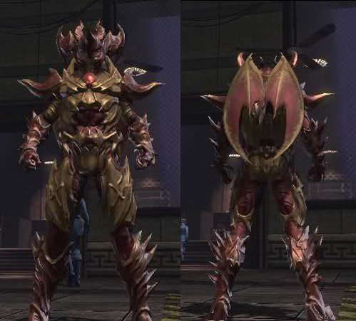 Dc Universe Online Demonic Armored