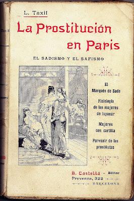 Leo Taxil libro book La prostittucion en paris sadismo y safismo