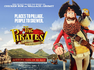 Thee Pirates Band of Misfits Captain and Parrot on Shoulder HD Poster Wallpaper