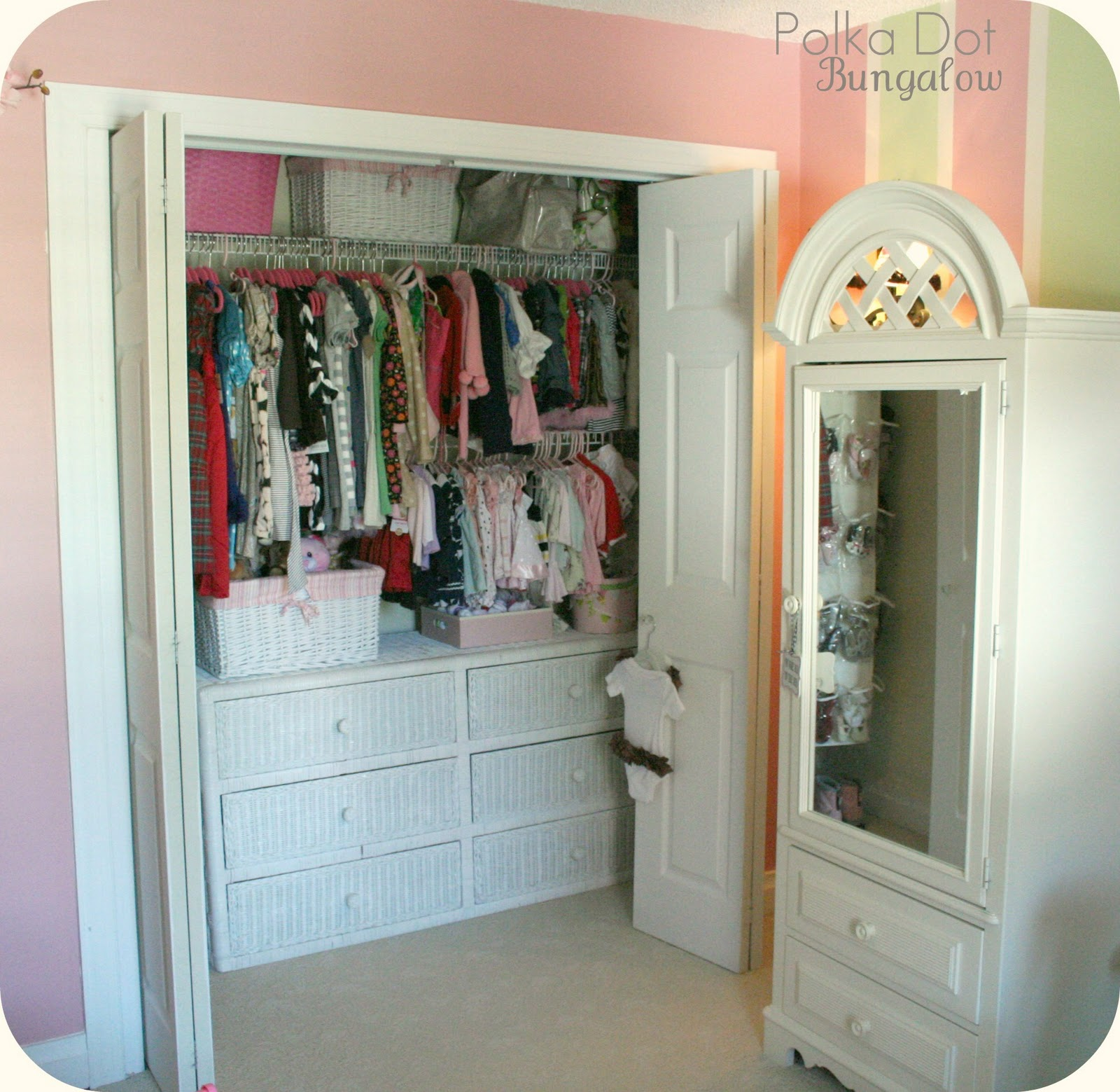 "Step Inside Our Bungalowmiss B's And &Quot;little Lady's"" Closet"
