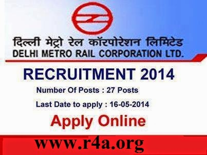 Manager Jobs at DMRC 2014