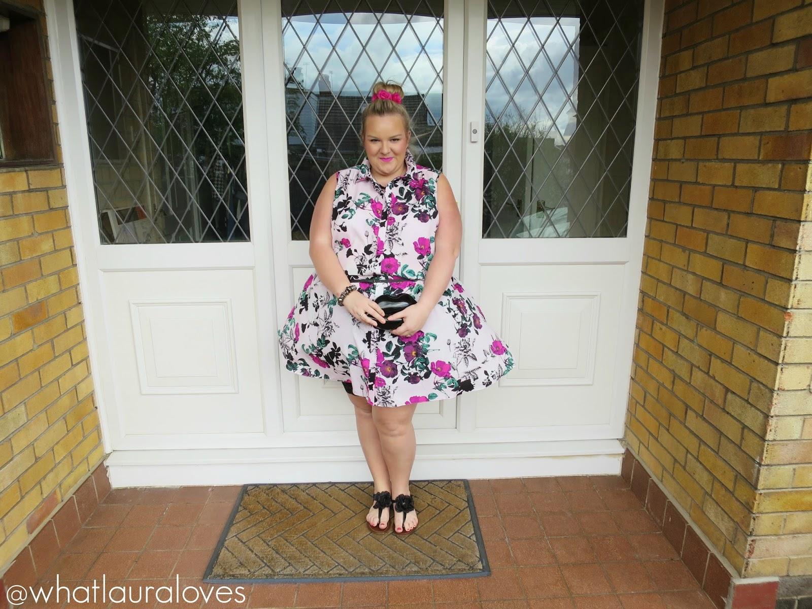 Gemma Collins Boutique Floral Shirt Dress