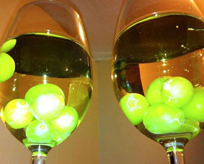 refroidir vin raisins