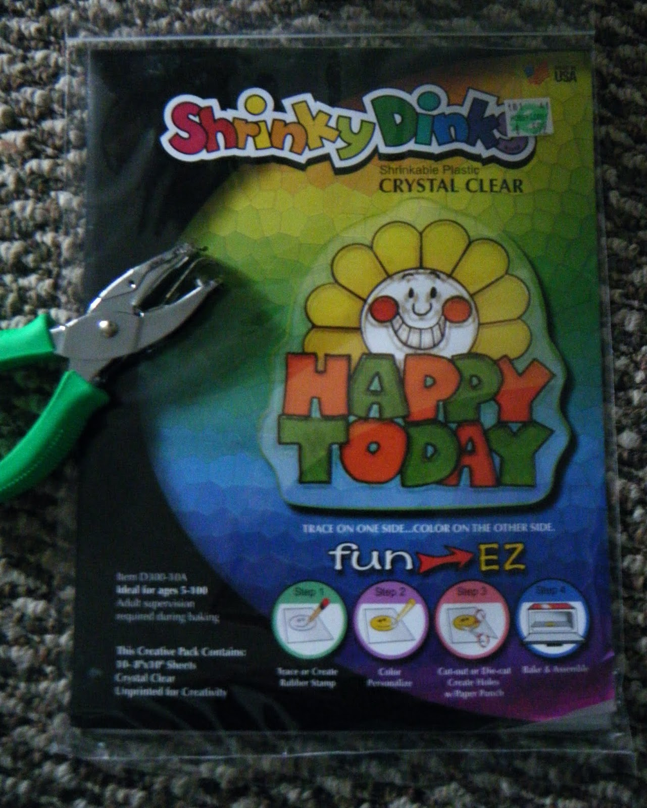 shrinky dink paper instructions