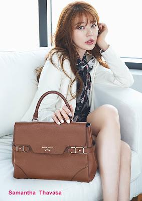 Yoon Eun Hye Samantha Thavasa Fall Winter 2015