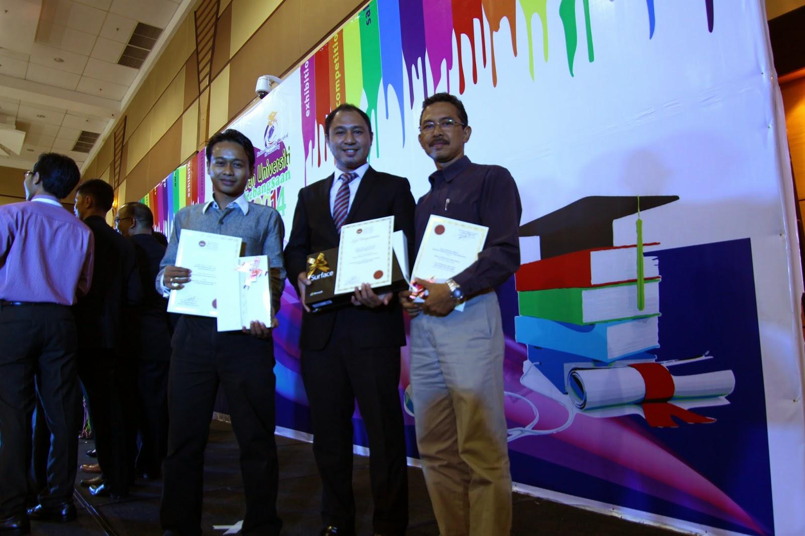 Johan Pertandingan Blog dan Kurasi Kandungan UPSI 2014