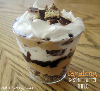 http://whatscookinglove.com/2012/03/tagalong-peanut-butter-trifle/