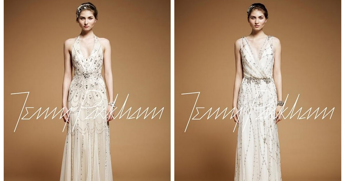 Sparkly wedding dresses by jenny packham for Very sparkly wedding dresses