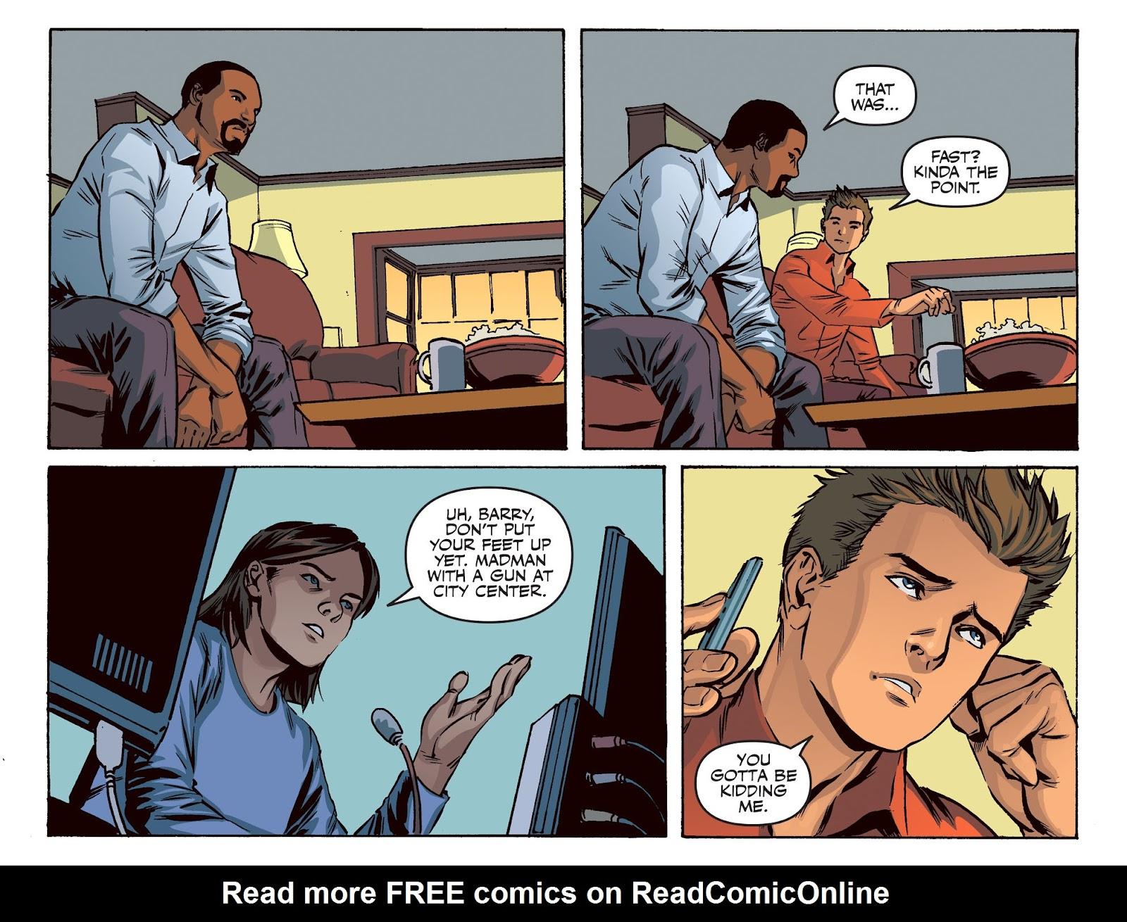 The Flash: Season Zero [I] Issue #20 #20 - English 8