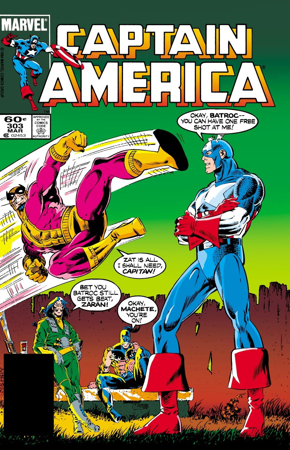 Captain America (1968) Issue #303 #231 - English 1