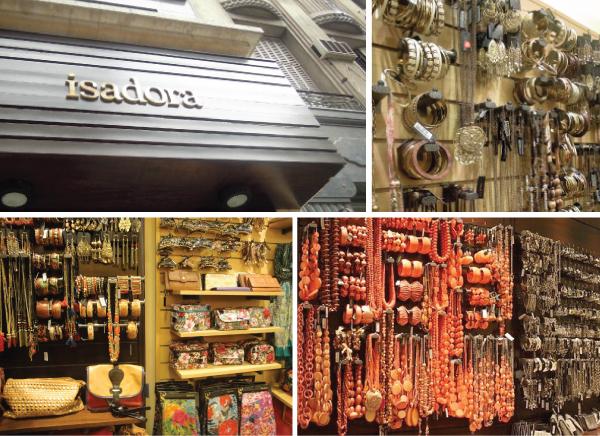 Principais lojas de Buenos Aires - ISADORA