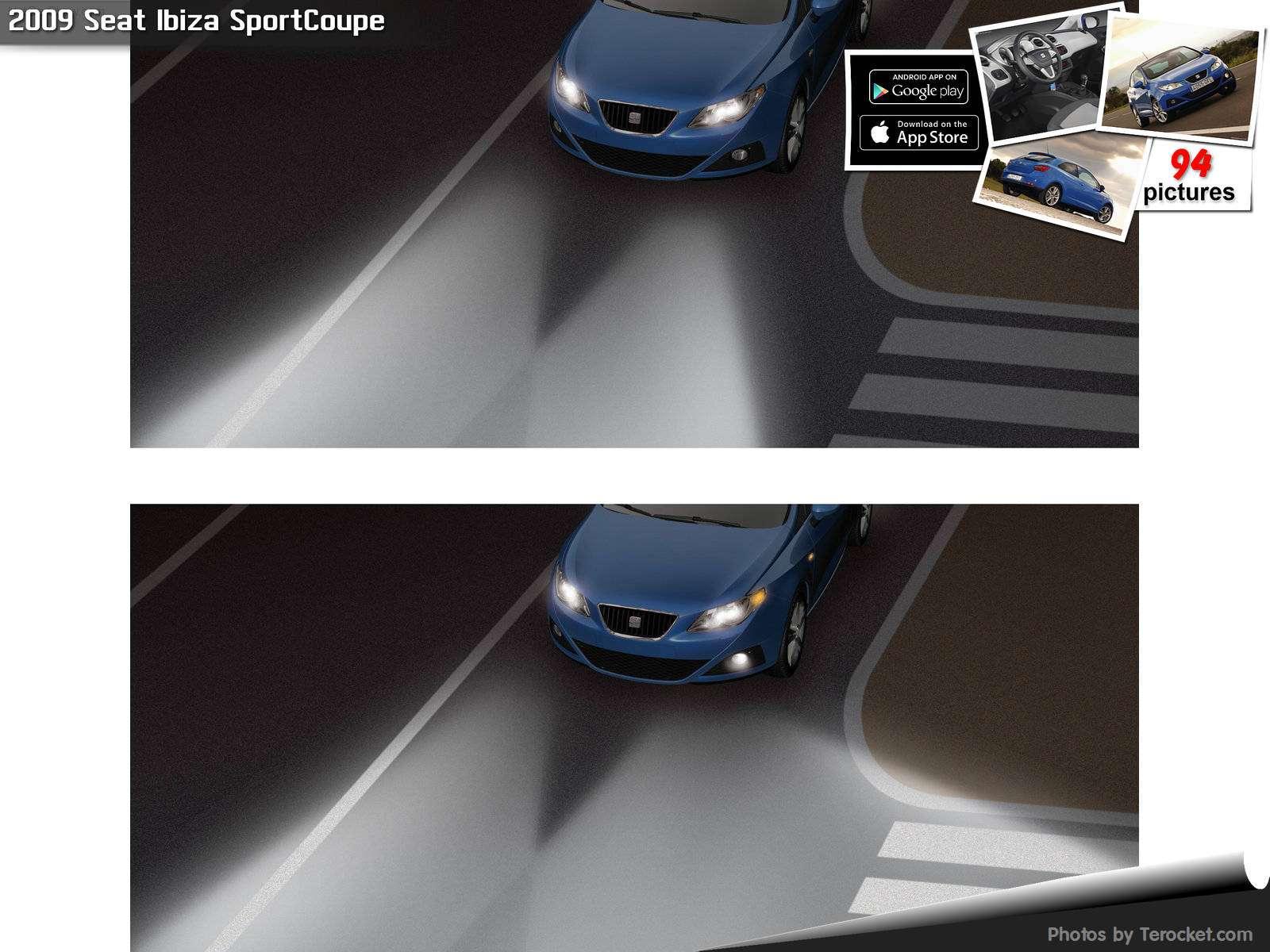 Hình ảnh xe ô tô Seat Ibiza SportCoupe 2009 & nội ngoại thất