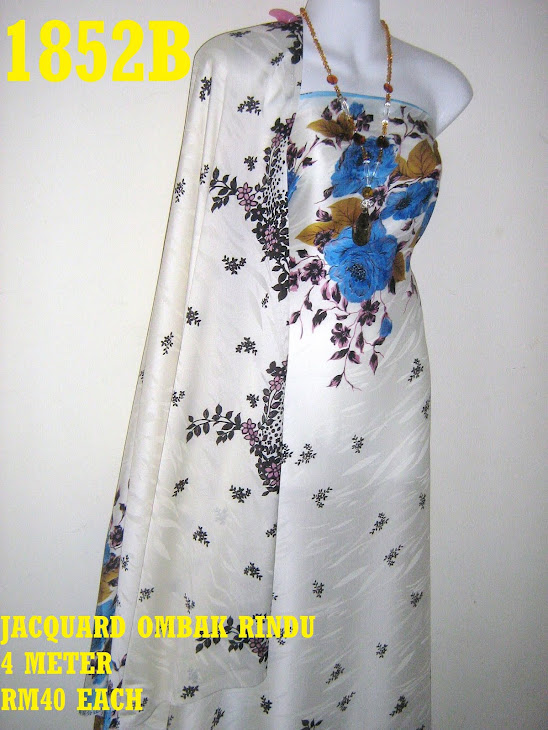 JOR 1852B: JACQUARD OMBAK RINDU, 4 METER