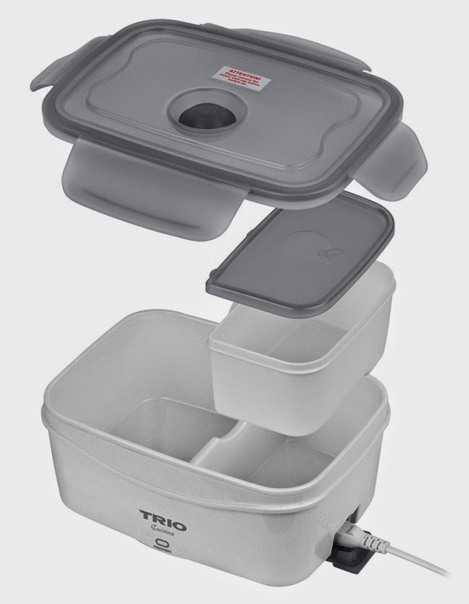 Portable Food Warmer Box ~ Cheap trio electric lunch box tlb review