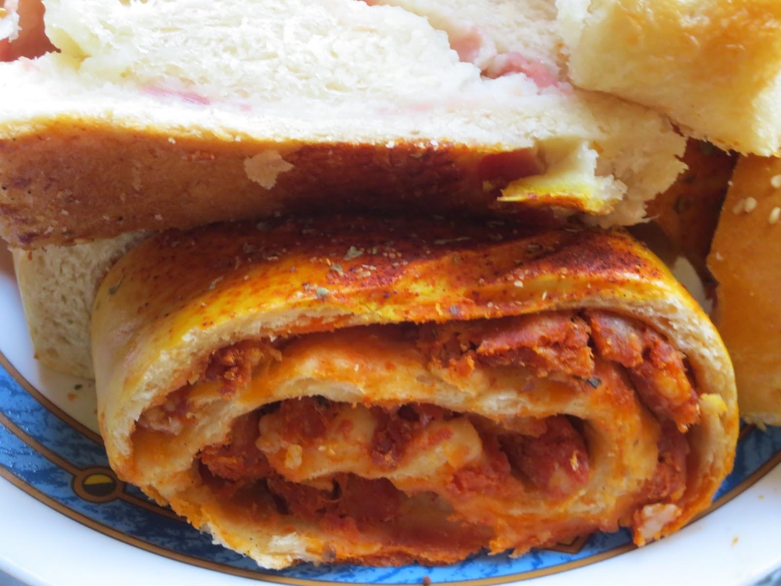 Pan relleno for Pane con kitchenaid