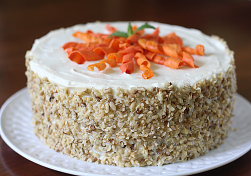 Carrot Cake Without Topping