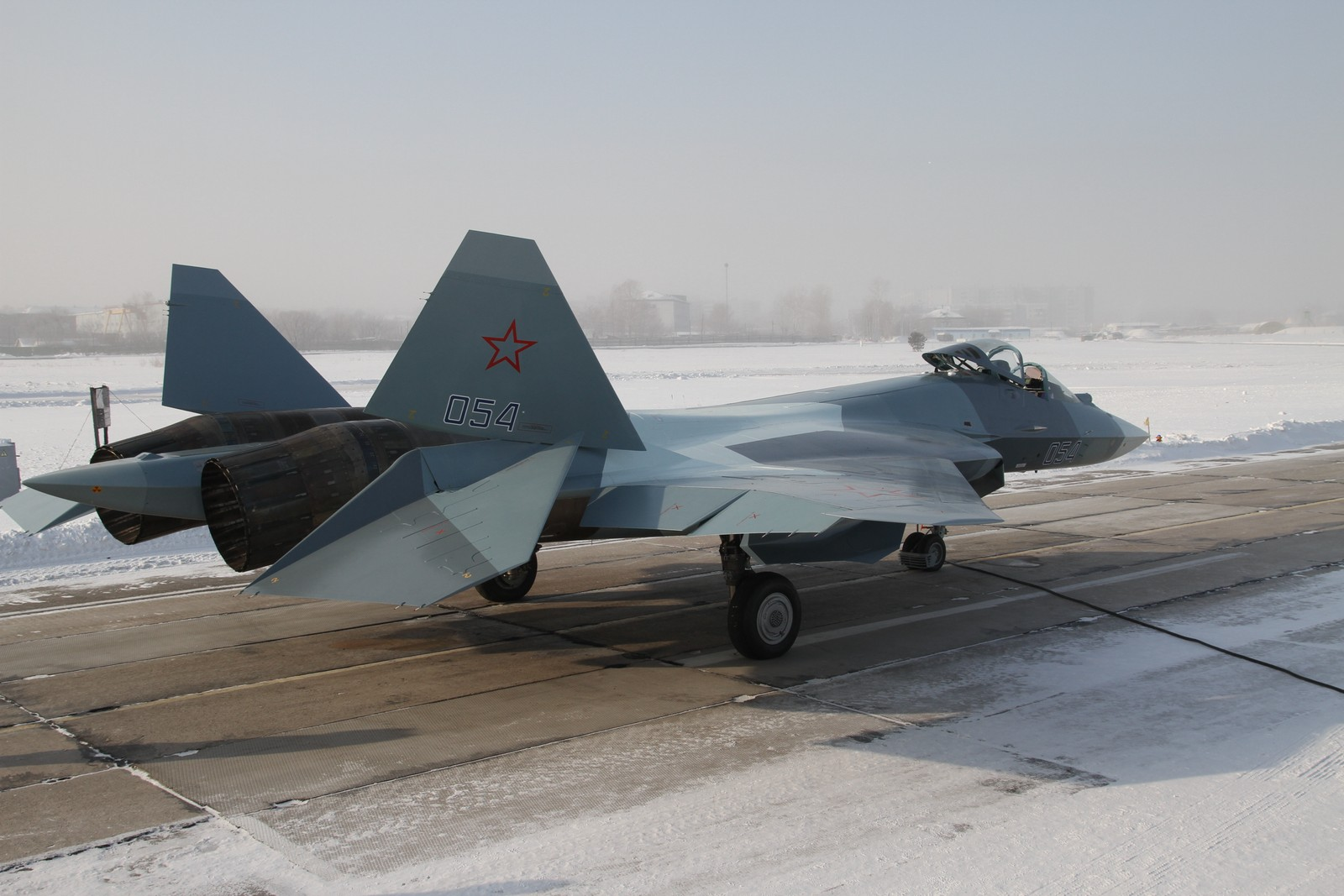 Sukhoi-T-50 fighter aircraft completes first long range flight