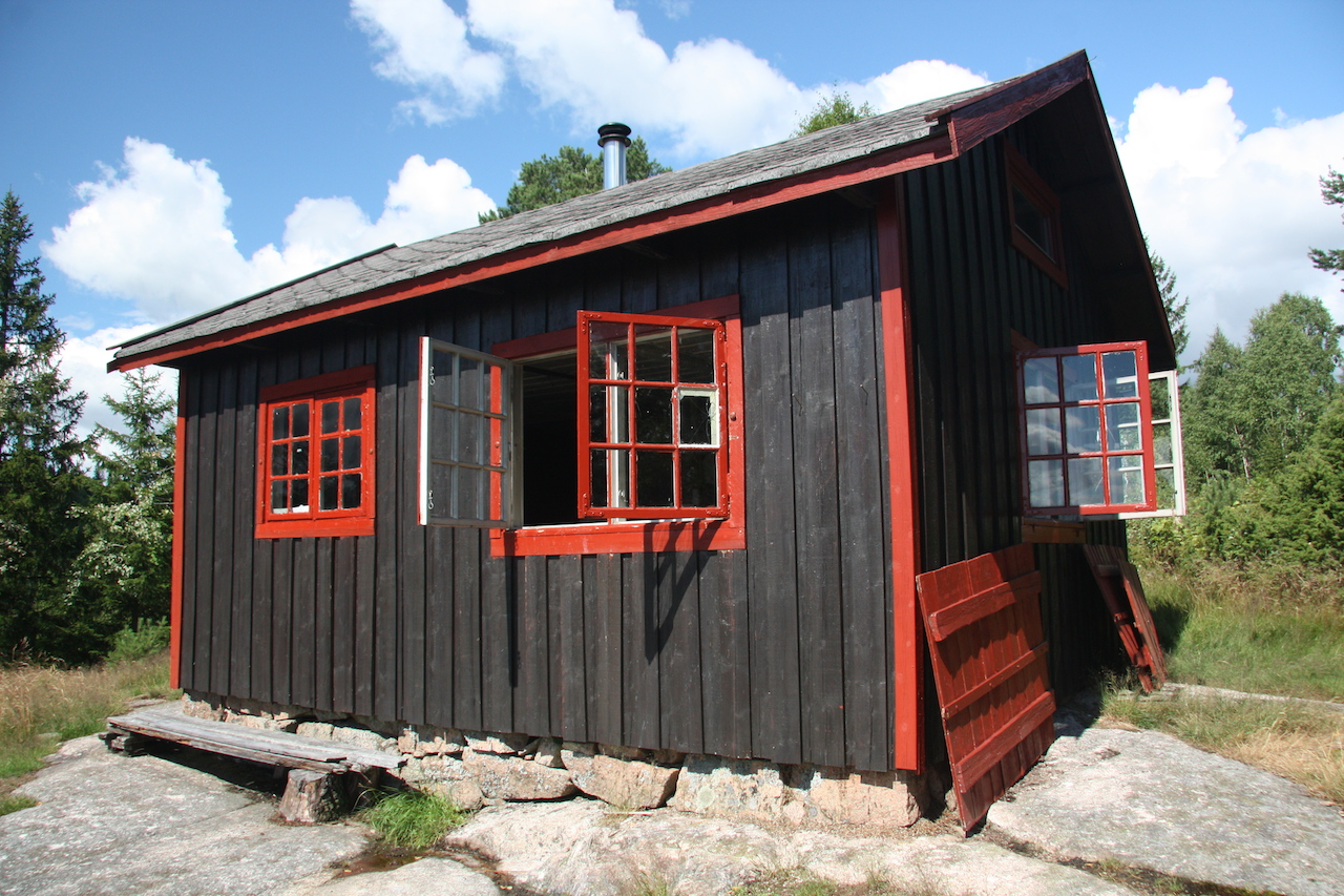 No impact girl cabin fever two weeks alone in a norwegian wood - Norwegian wood houses ...