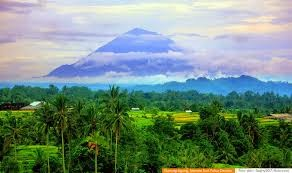 Gunung Agung Meletus 16 Maret 1963