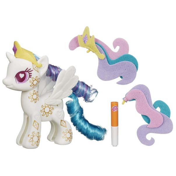Little pony pop cutie mark magic princess celestia design a pony kit