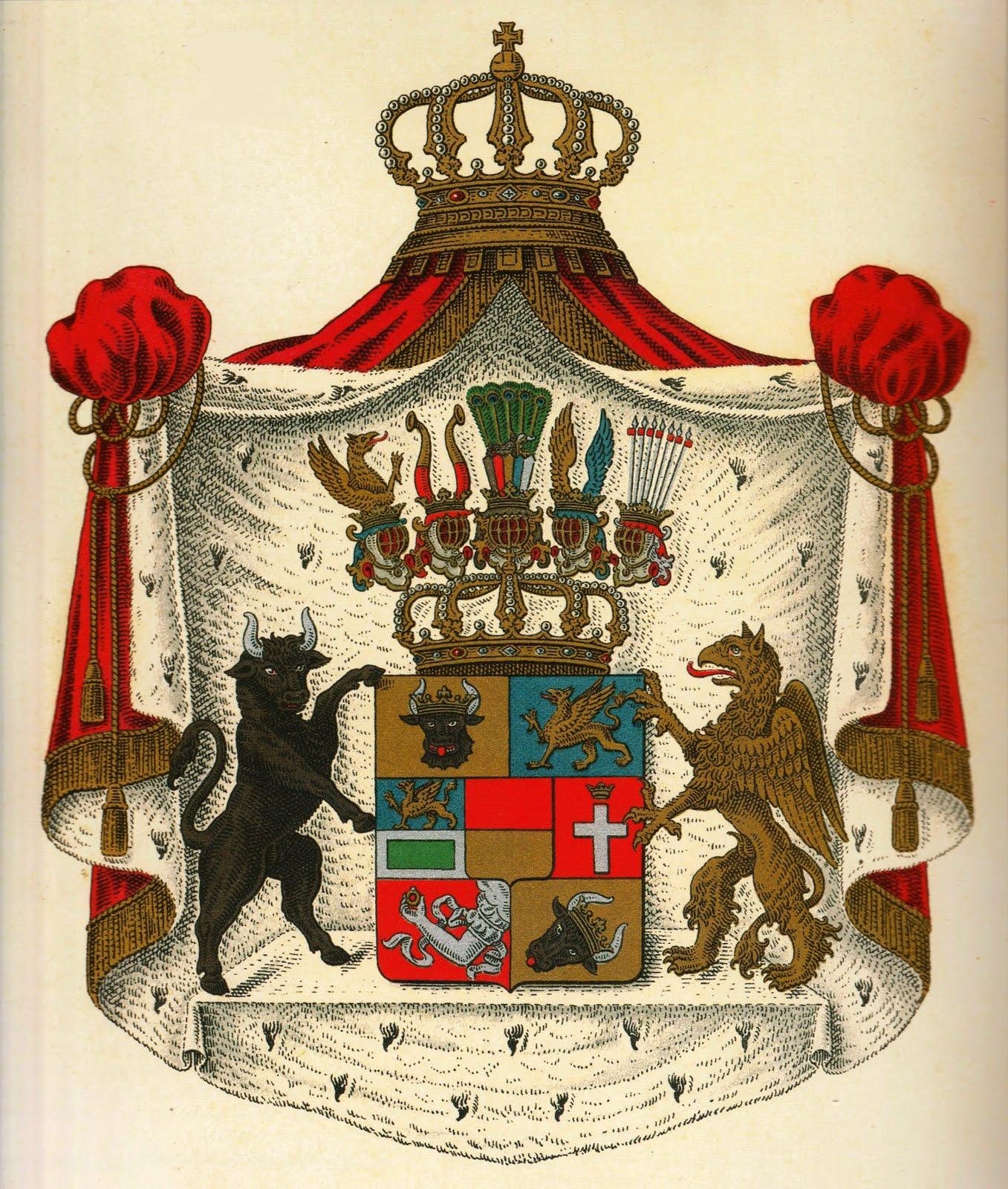Großherzogliches Wappen Mecklenburg (-Strelitz)