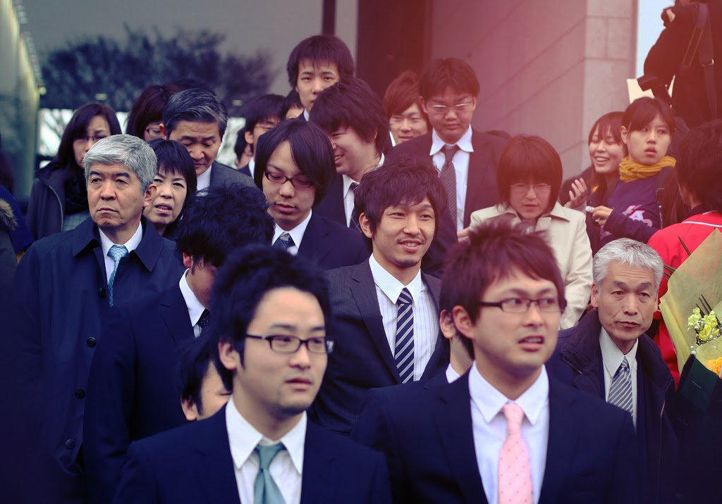 salary man japoneses