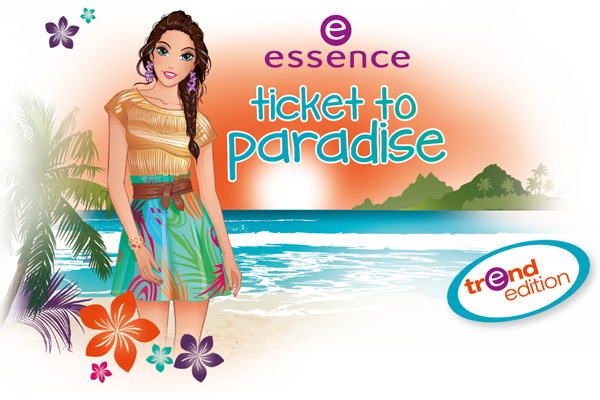 "essence Trend Edition ""Ticket to Paradise"" juni/juli 2013"