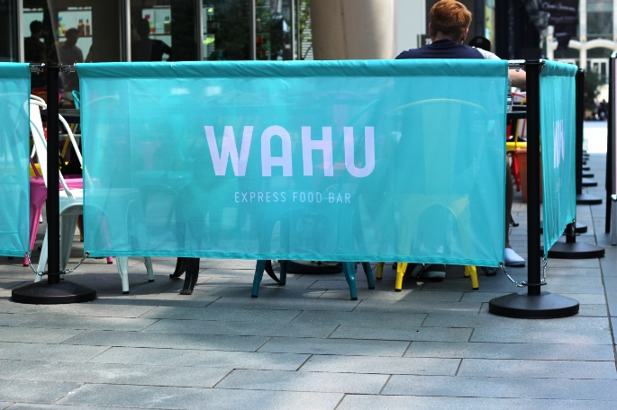 In Manchester: Wahu Express Food Bar