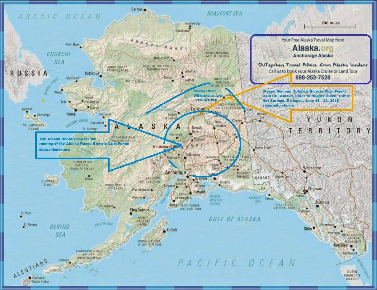 Alaska Range Bicycle Gran Fondo