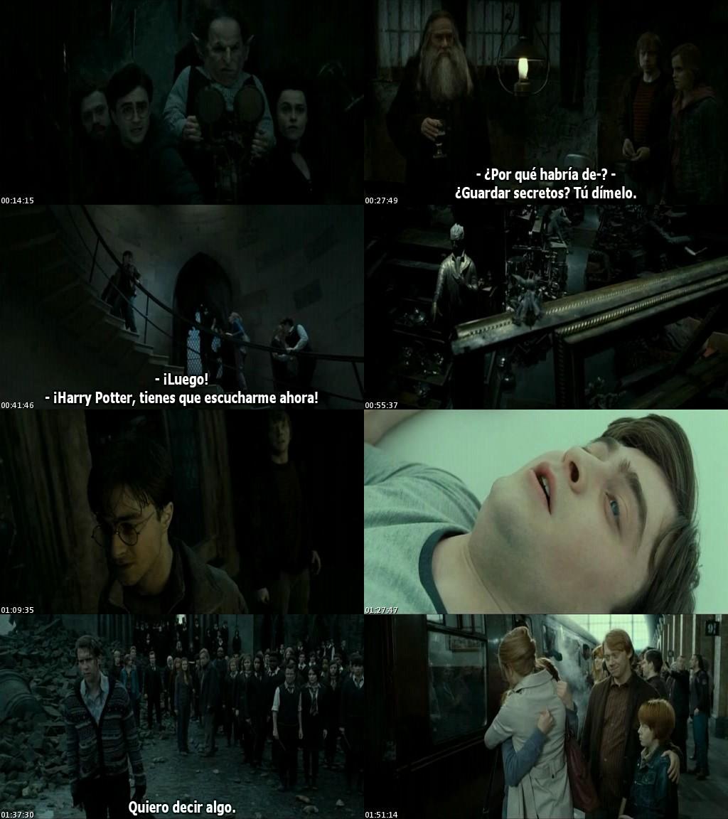 Harry Potter y las reliquias de la Muerte: Parte 2 (2011) [DVDRip] [Sub. Español]