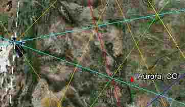 Ley Lines Colorado Map Submited Images