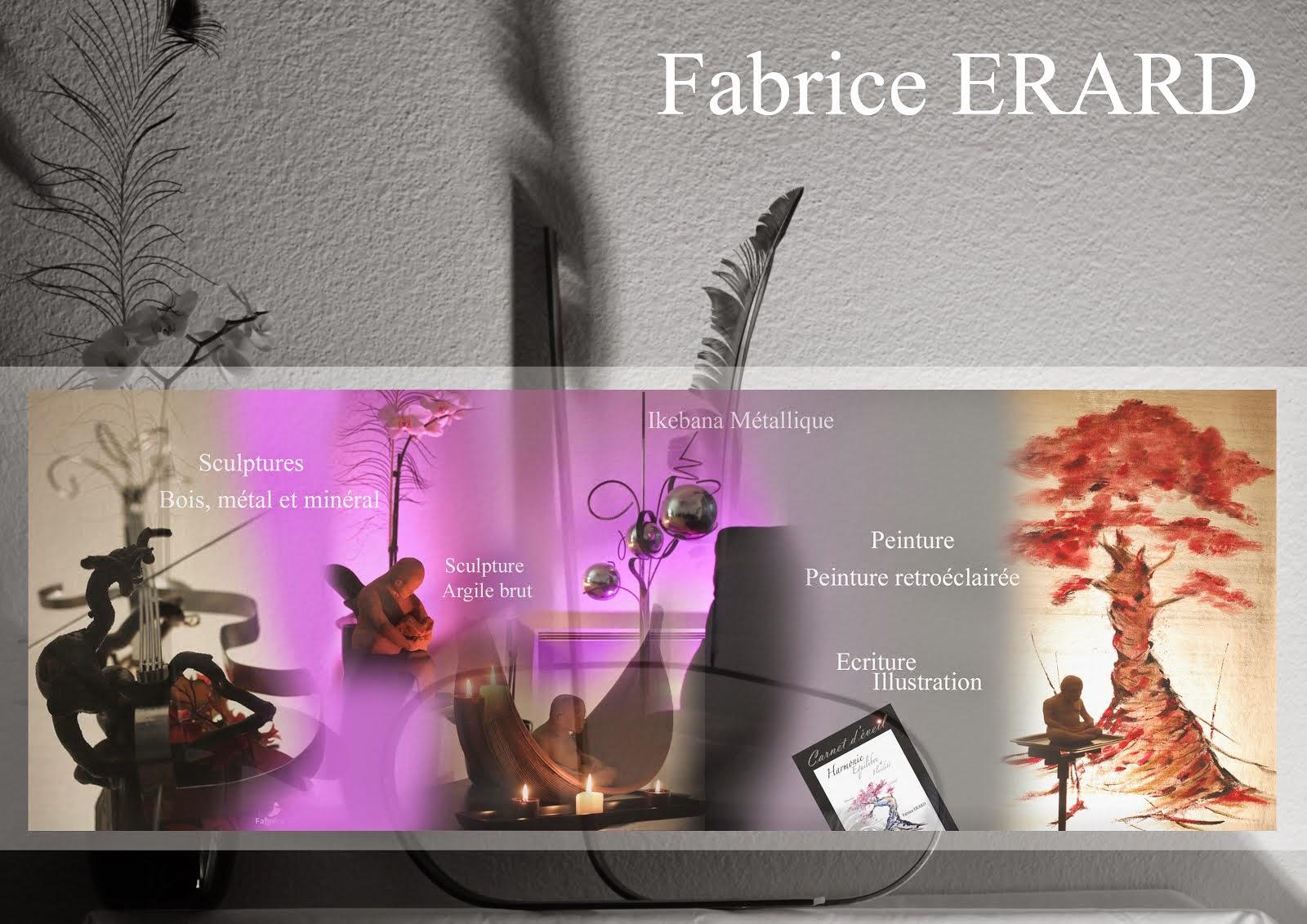 Site de créations artistiques de Fabrice ERARD