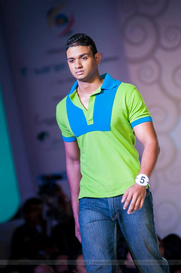 Mister Sri Lanka International 2012 Dimitri Dolapihilla