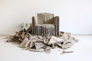 Sillón de Cartón Reciclado, Muebles Ecoresponsables