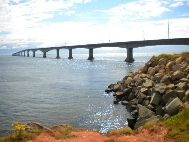 Confederation Bridge in P.E.I.