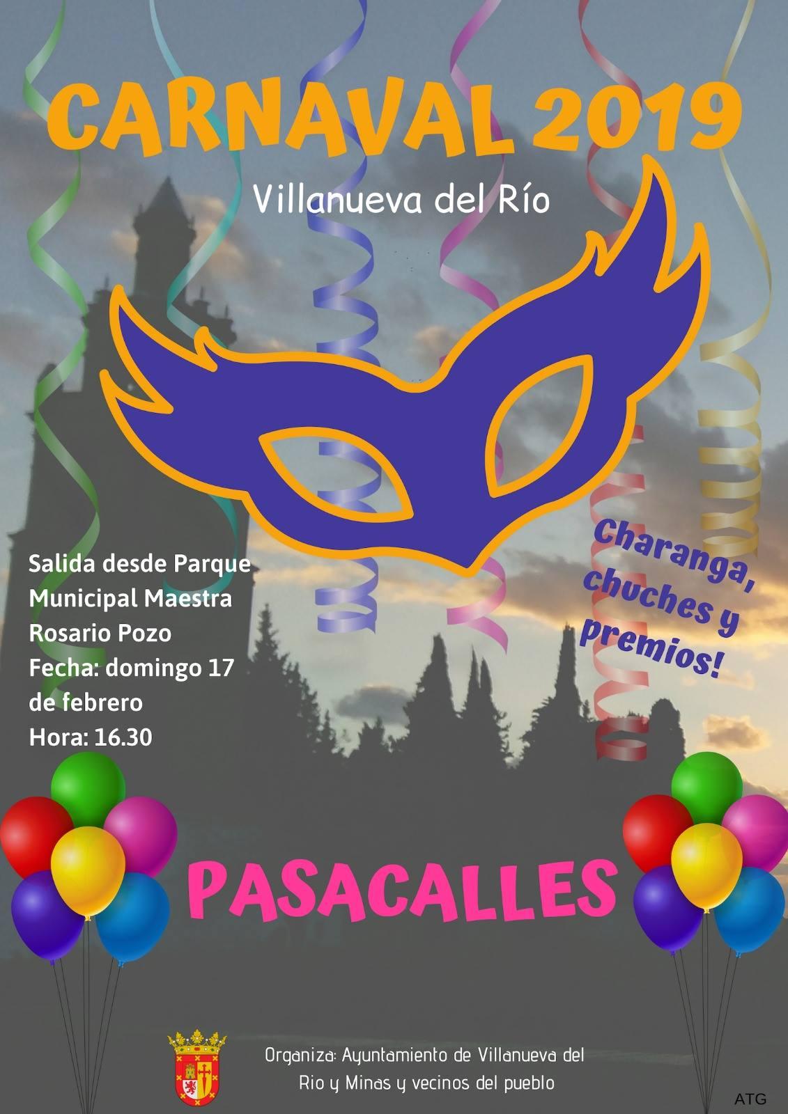 CARNAVAL 2019 en Villanueva del Río