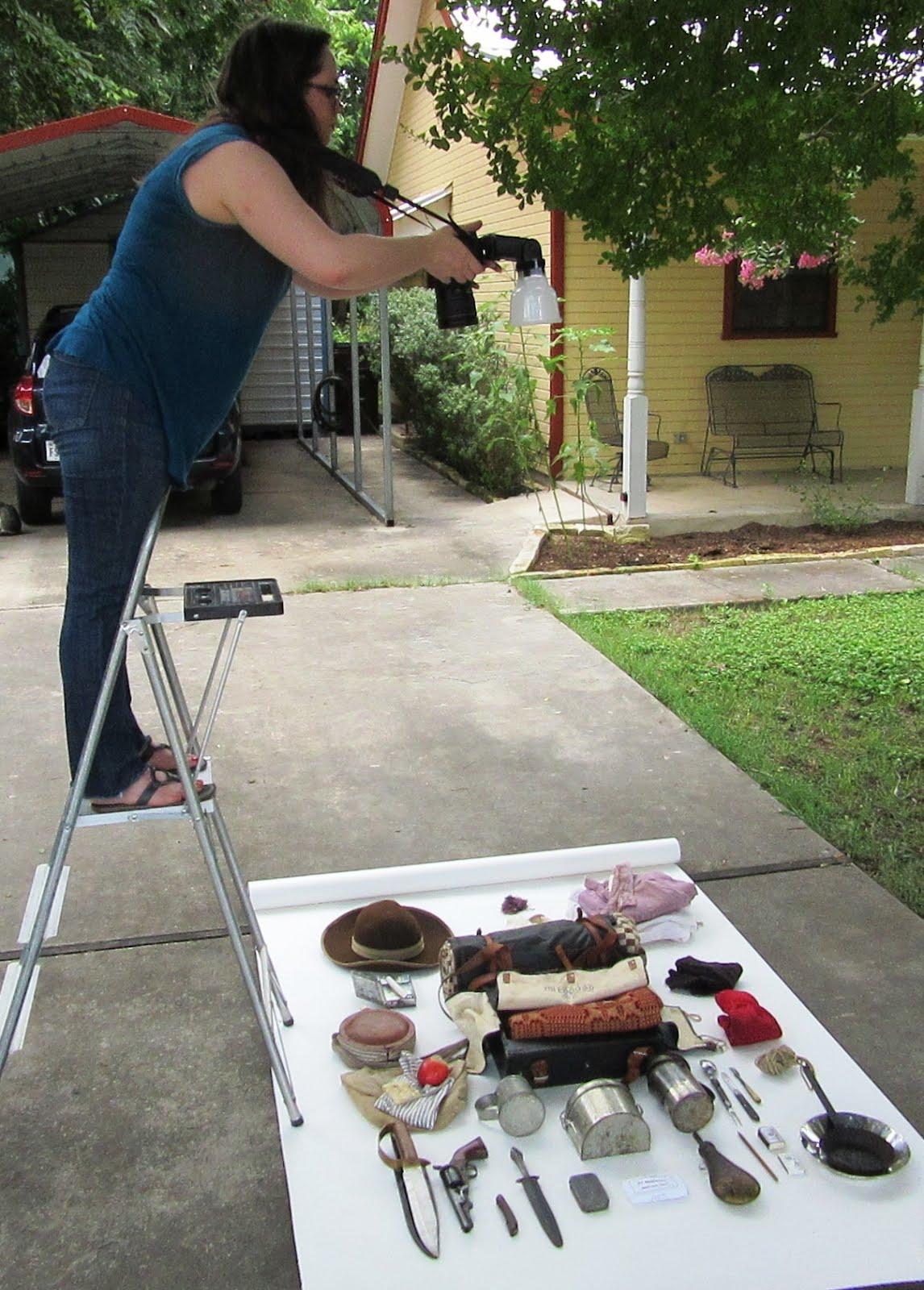 Allison Shooting My CW Bug-Out Bag