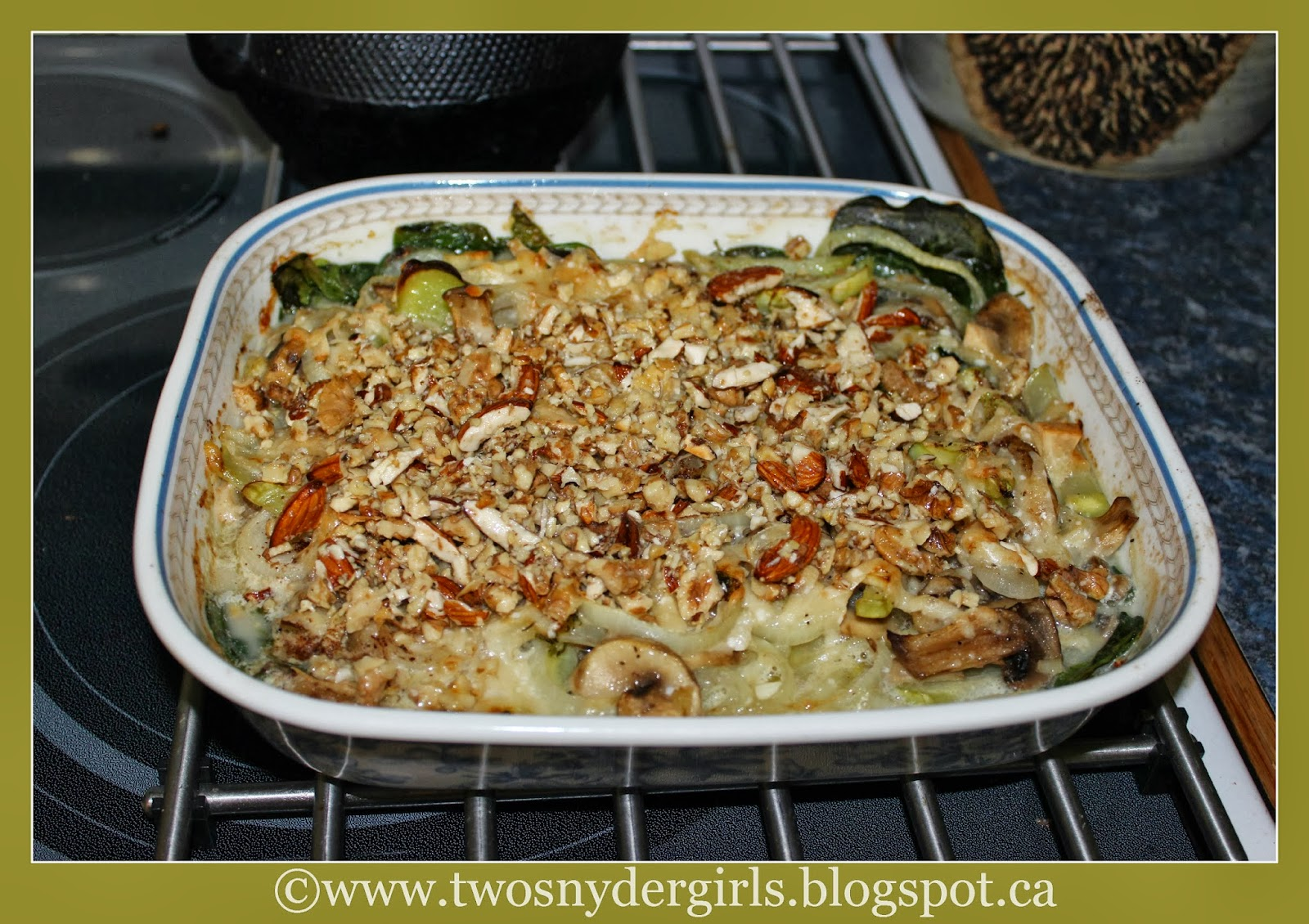 Baked Vegetable Parmesan