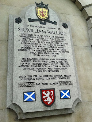 William Wallace, Smithfield, Braveheart, Scottish independence