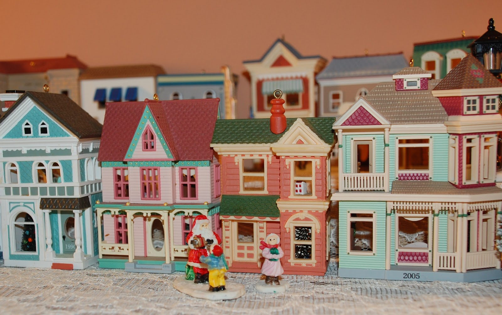 one of my most special christmas gifts is a gift i get each year small hallmark christmas houses that were designed to be ornaments - Hallmark Christmas Village