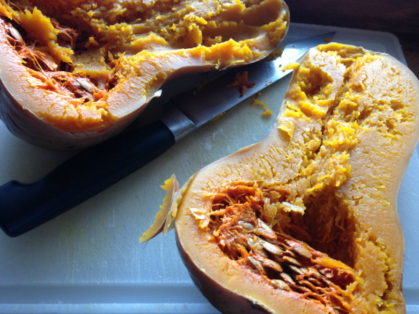 Slow-cooker Butternut Squash - Kim's Welcoming Kitchen